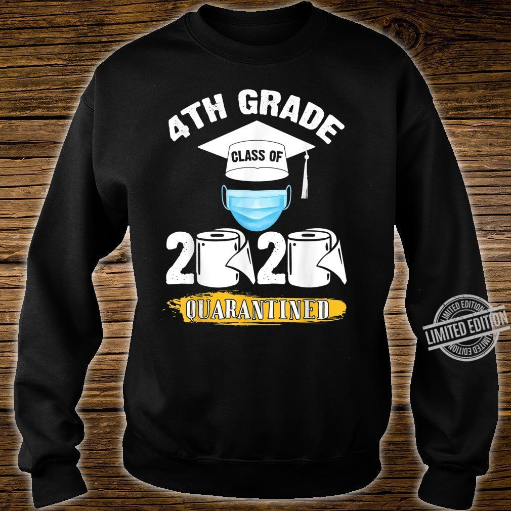 4th Grade Class of 2020 Quarantined Graduate Shirt sweater