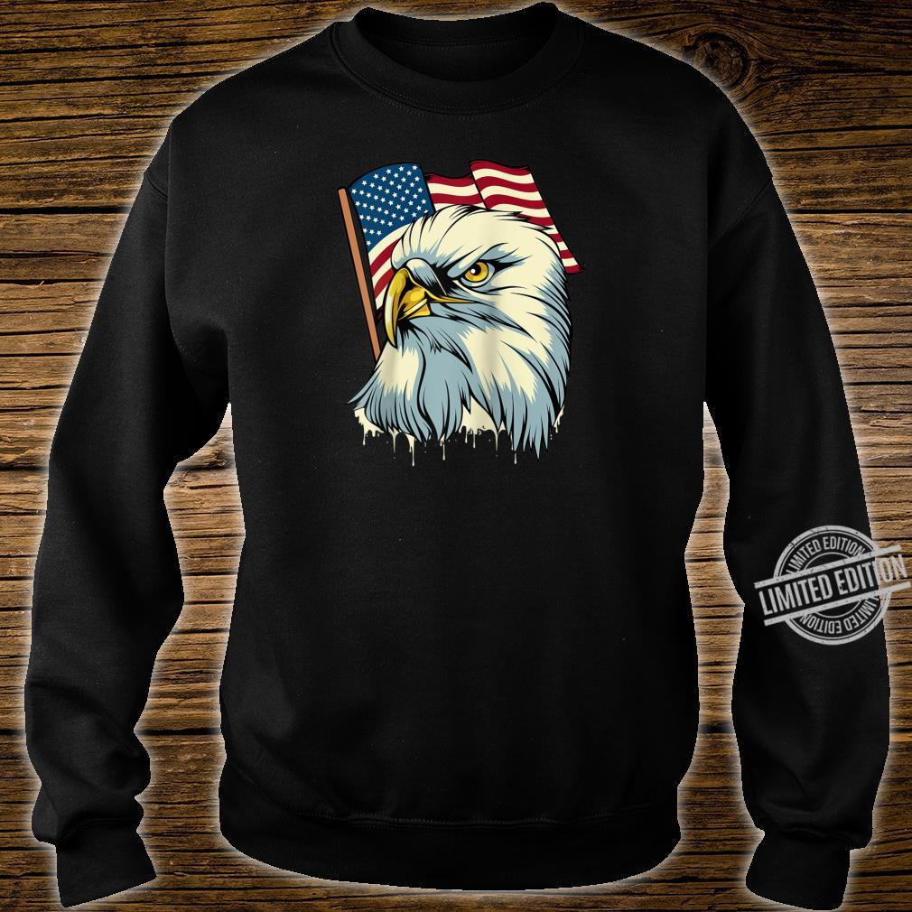 4th of July Eagle Bird American Flag Animal Patriotic Shirt sweater