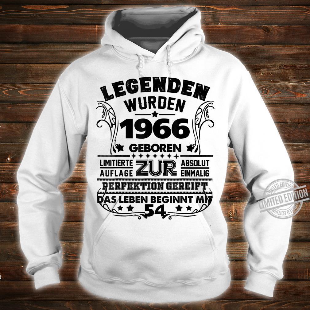 54. Geburtstag Geschenk Lustig Junge Mädchen1966 Party Shirt hoodie
