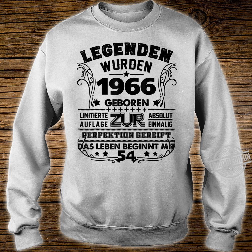 54. Geburtstag Geschenk Lustig Junge Mädchen1966 Party Shirt sweater