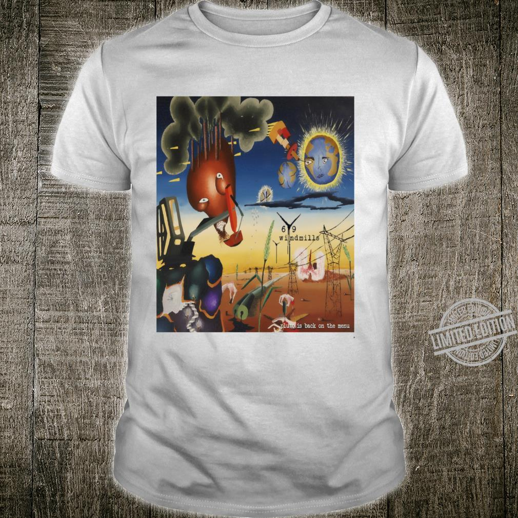 69 Windmills Pluto is Back on theu Official LP Sleeve Shirt