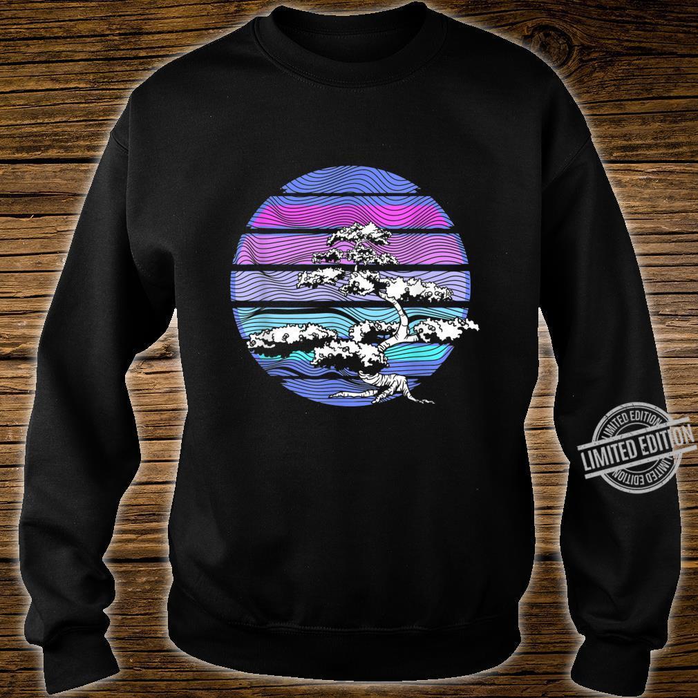 80s & 90s Aesthetic Vaporwave Bonsai Tokyo Meditation Buddha Shirt sweater