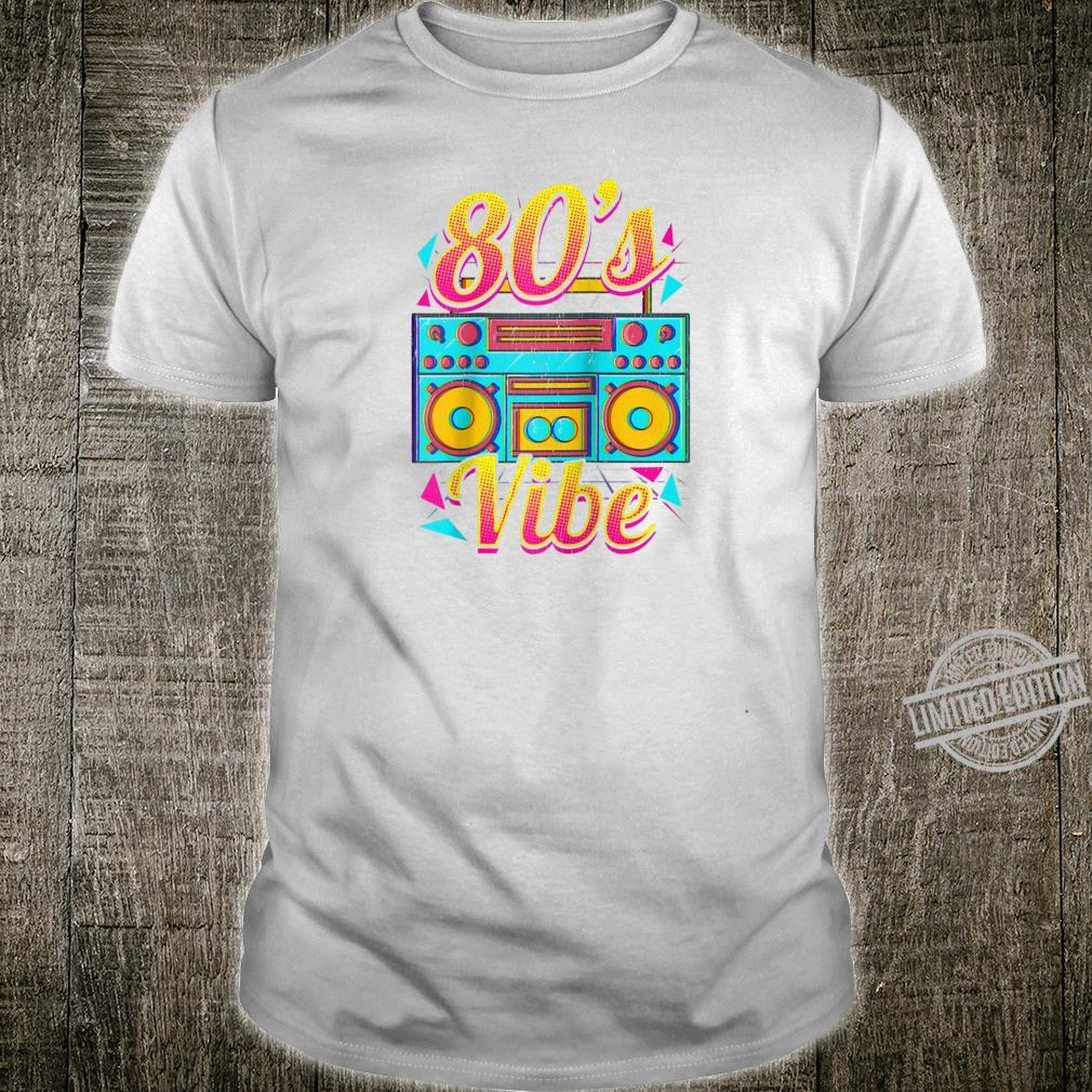 80s Vibe Retro 1980s Vintage Tape Music Player Shirt