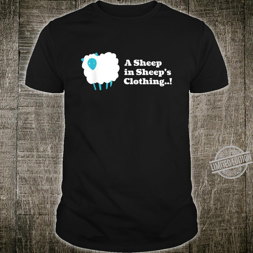 A Sheep in Sheep's Clothing. Wack Pack. Shirt