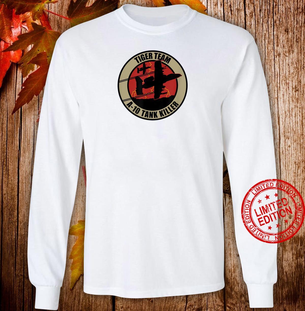 A10 Tank Killer Shirt long sleeved