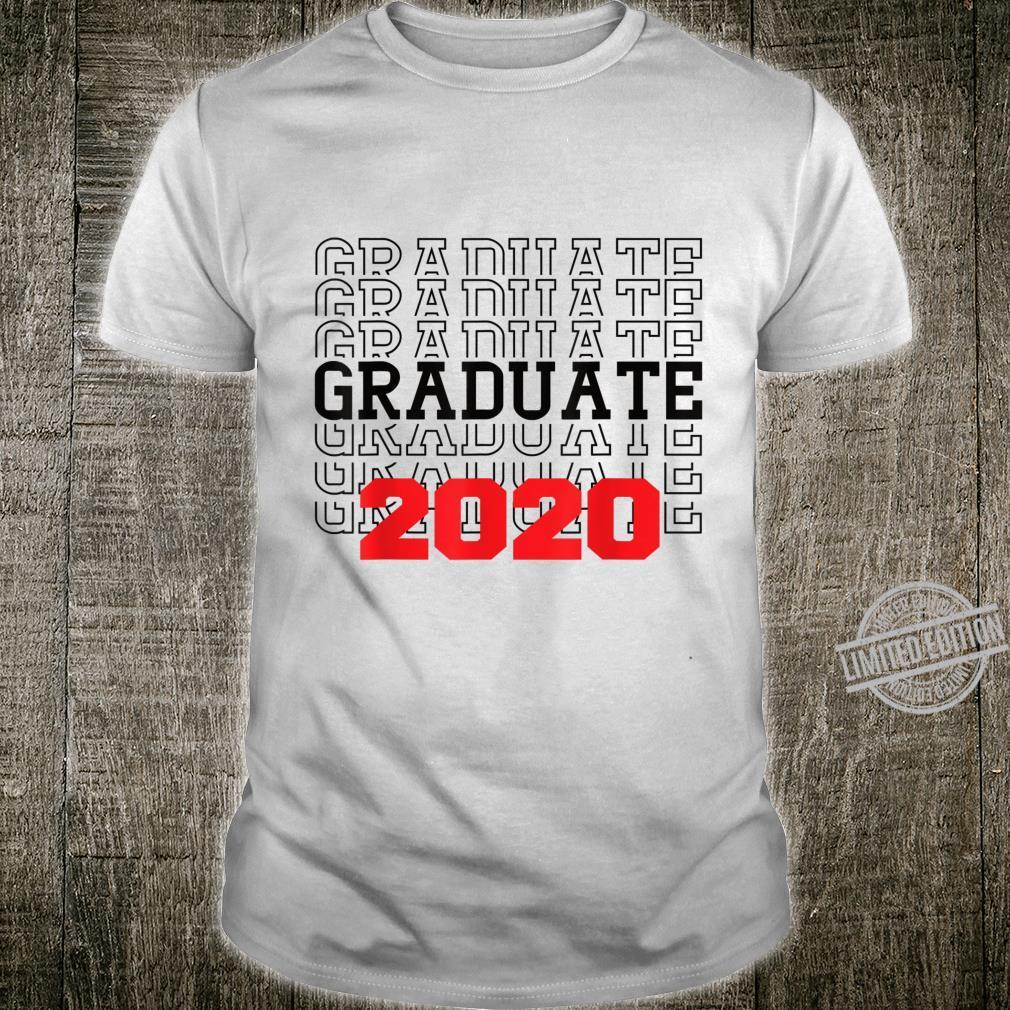 Abschlussklasse 2020 Schulklasse 2020 Shirt
