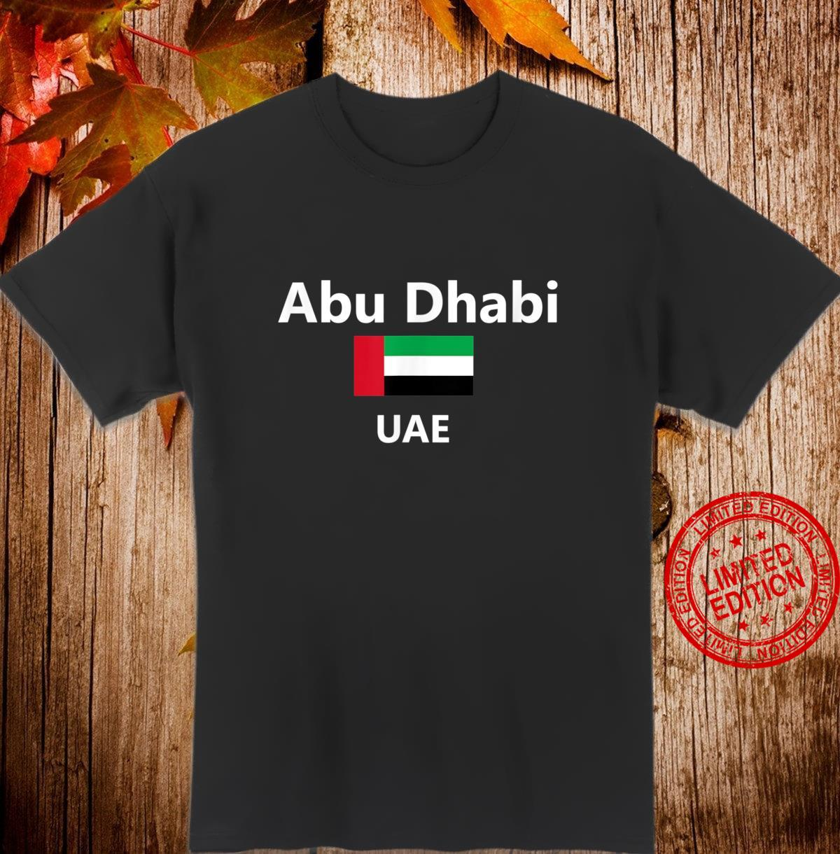 Abu Dhabi United Arab Emirates UAE Flag Country Shirt