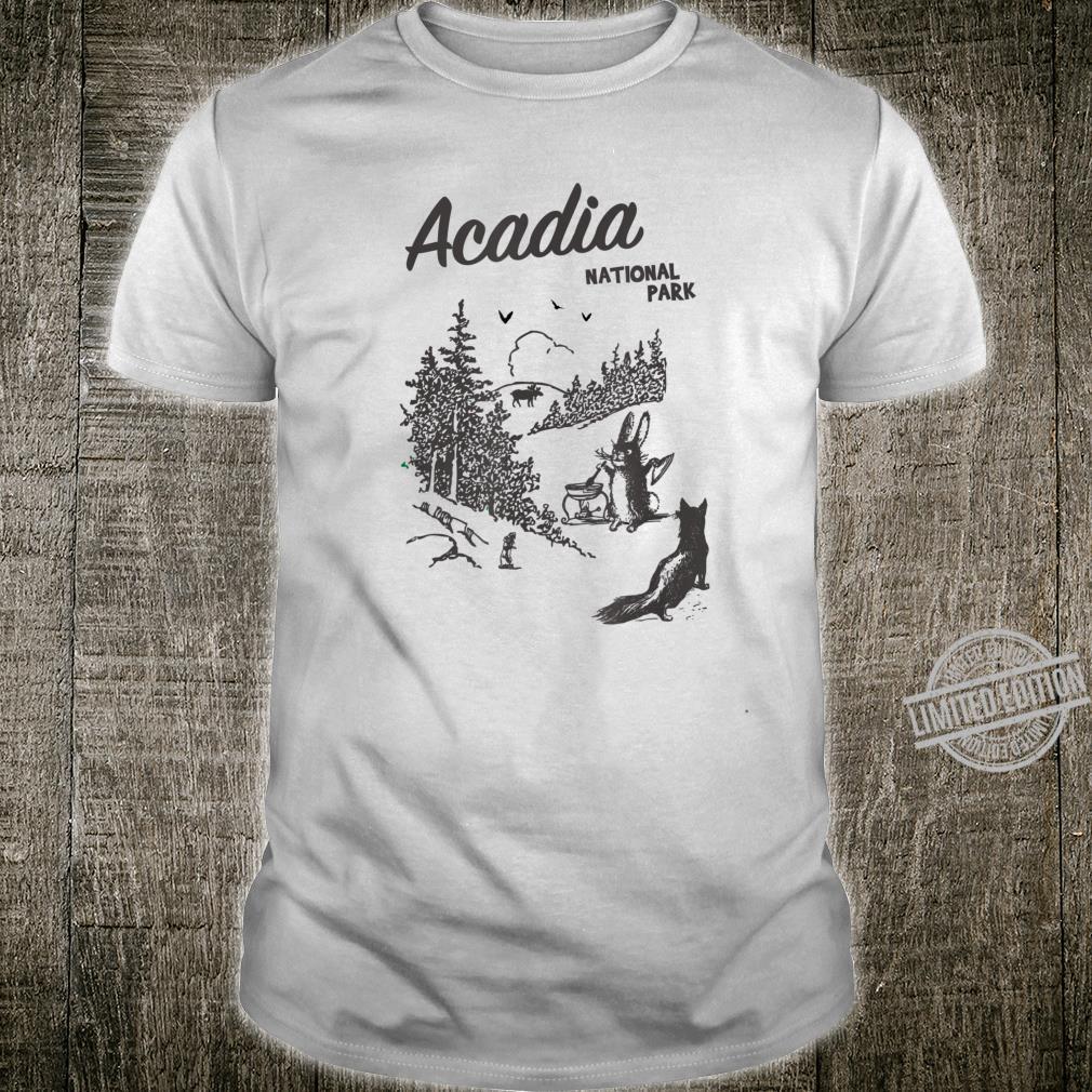 Acadia National Park Maine Bar Harbor Mount Desert Island Shirt