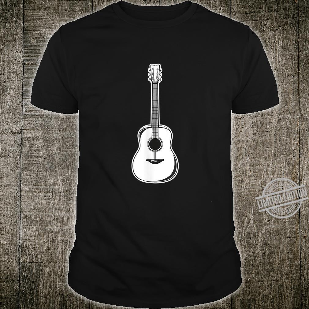 Acoustic Guitar Players Musician Bands Playing Bass Shirt