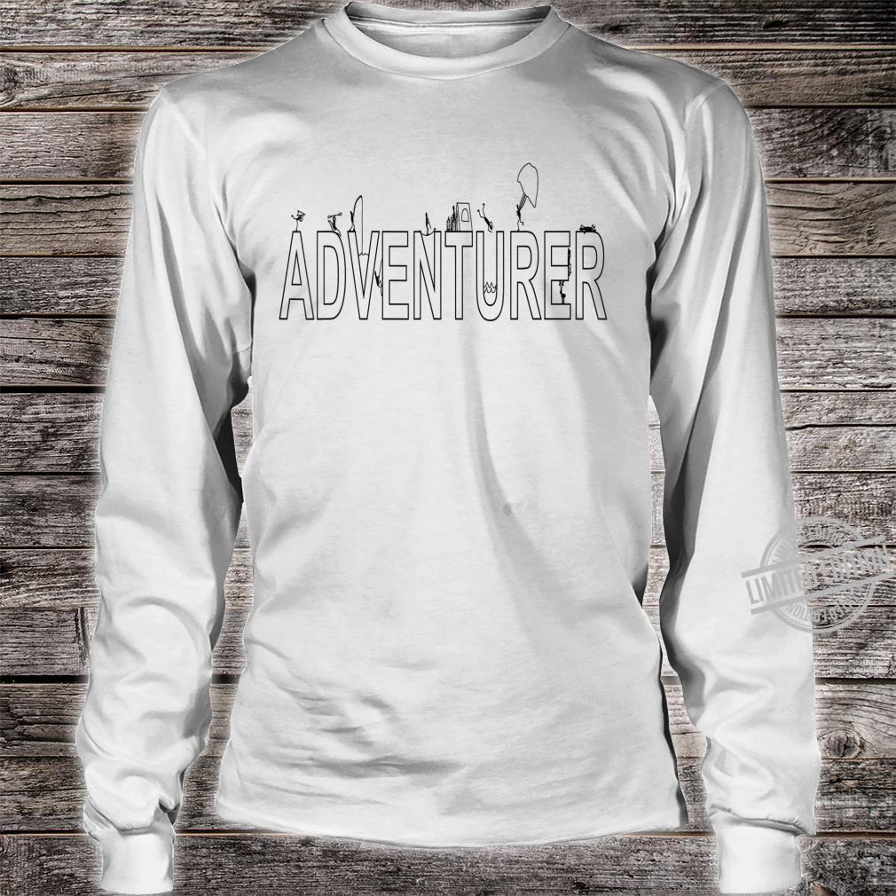 Adventurer Shirt long sleeved