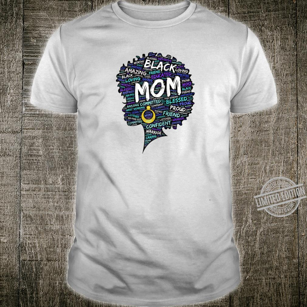 African American Mom Mother's Day Afro Shirt