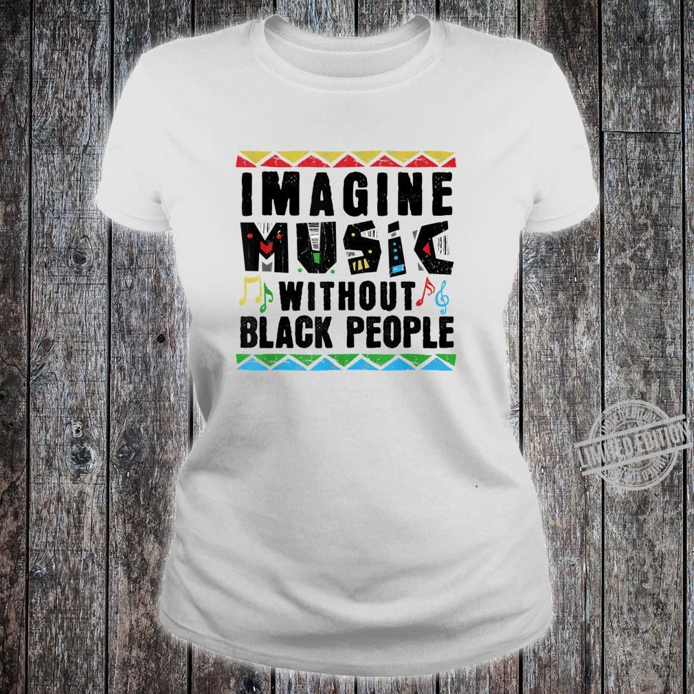 African American Pride Black Excellence Music History Roots Shirt ladies tee