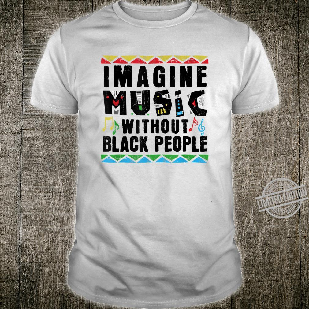 African American Pride Black Excellence Music History Roots Shirt