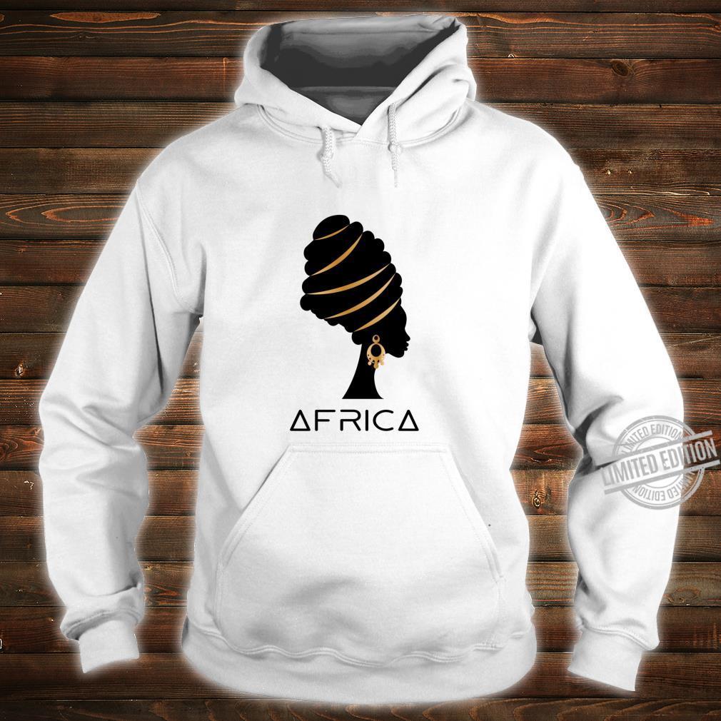 African Artistic Melanin Africa History Pride Heritage Shirt hoodie