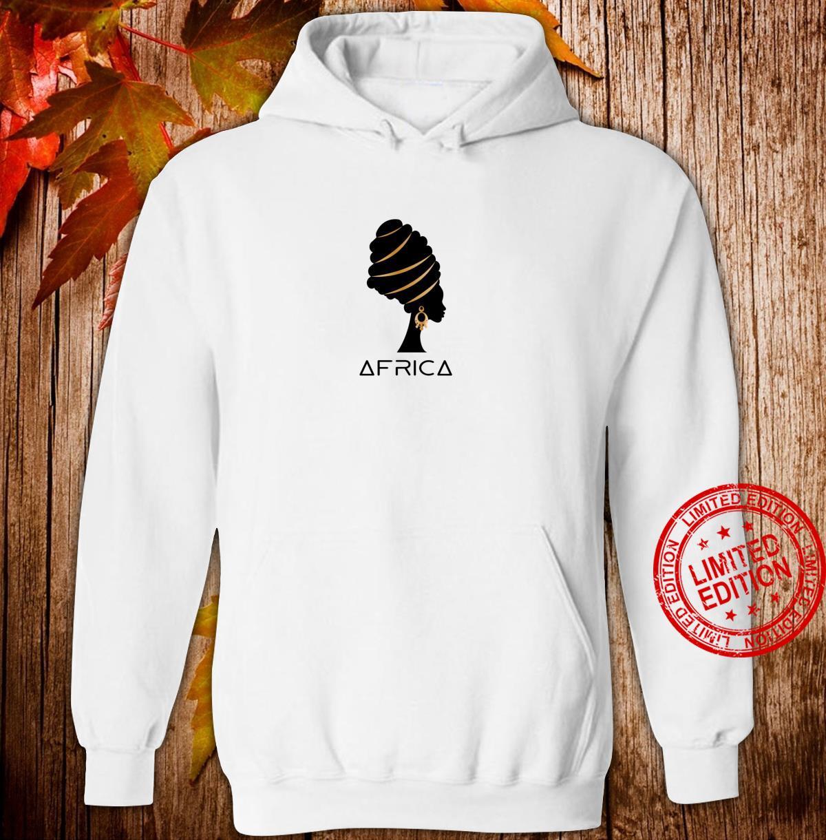 African Black Melanin Artistic Africa Pride Heritage Shirt hoodie