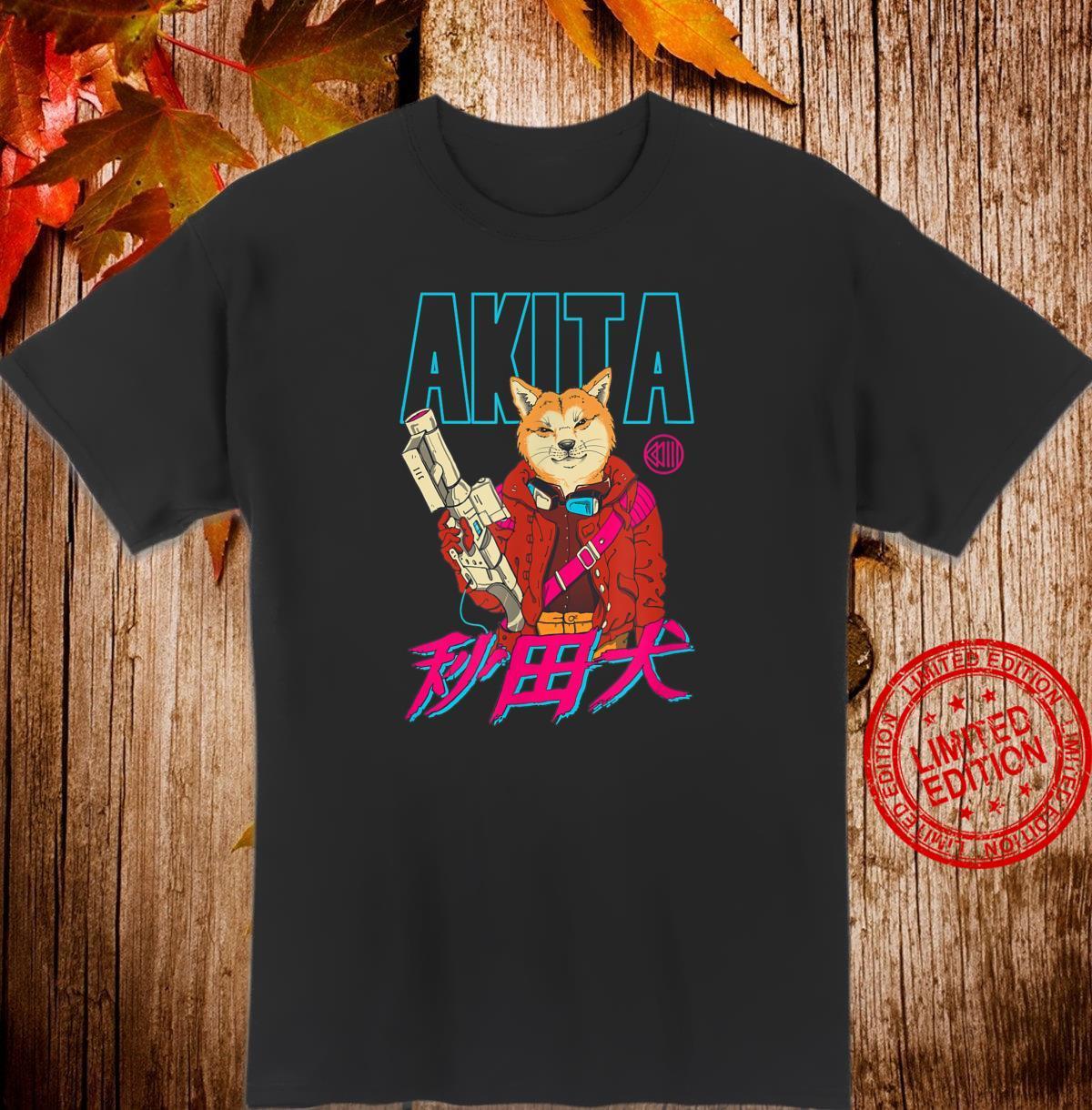 Akita Retrowave Shirt