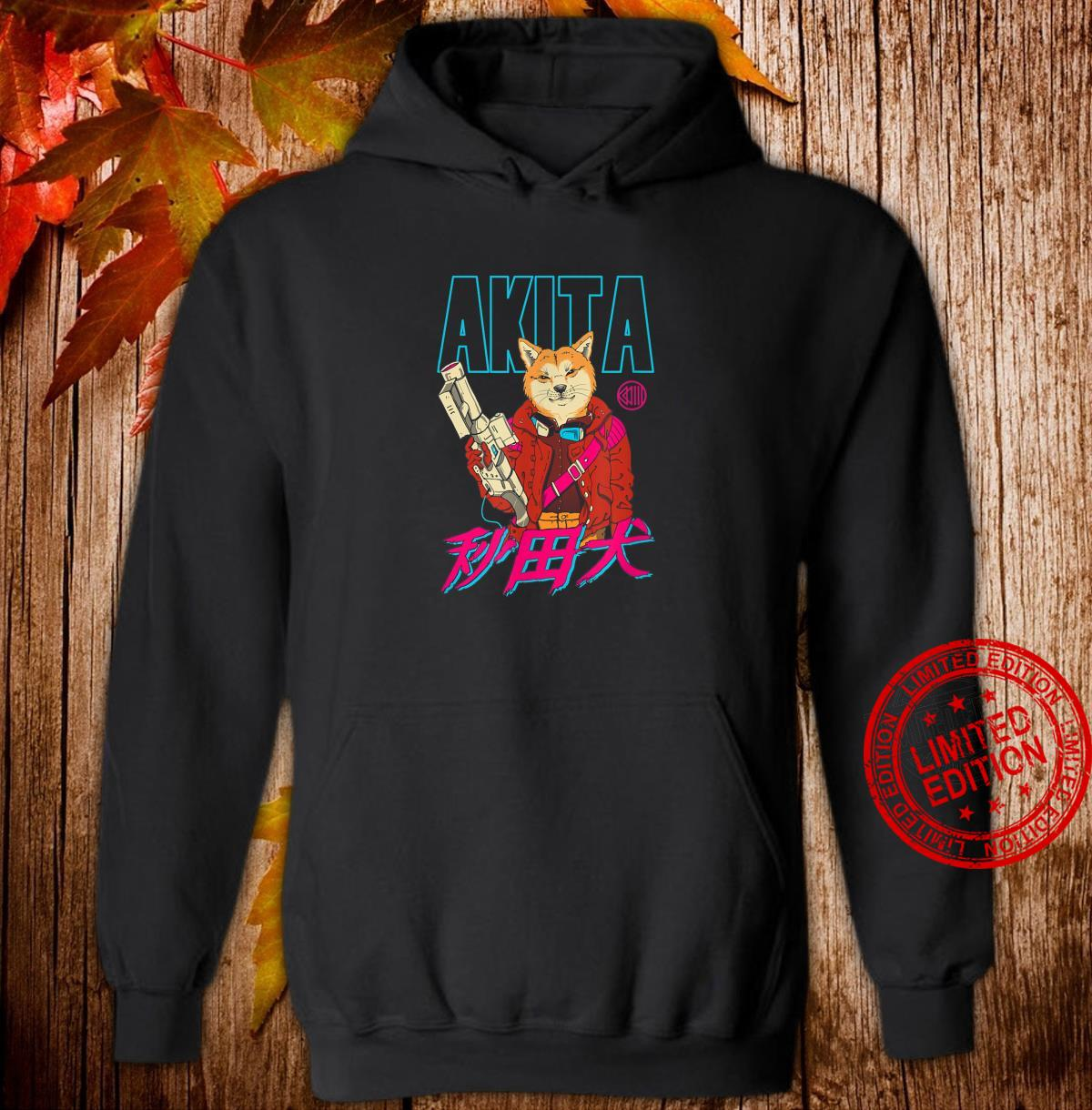 Akita Retrowave Shirt hoodie