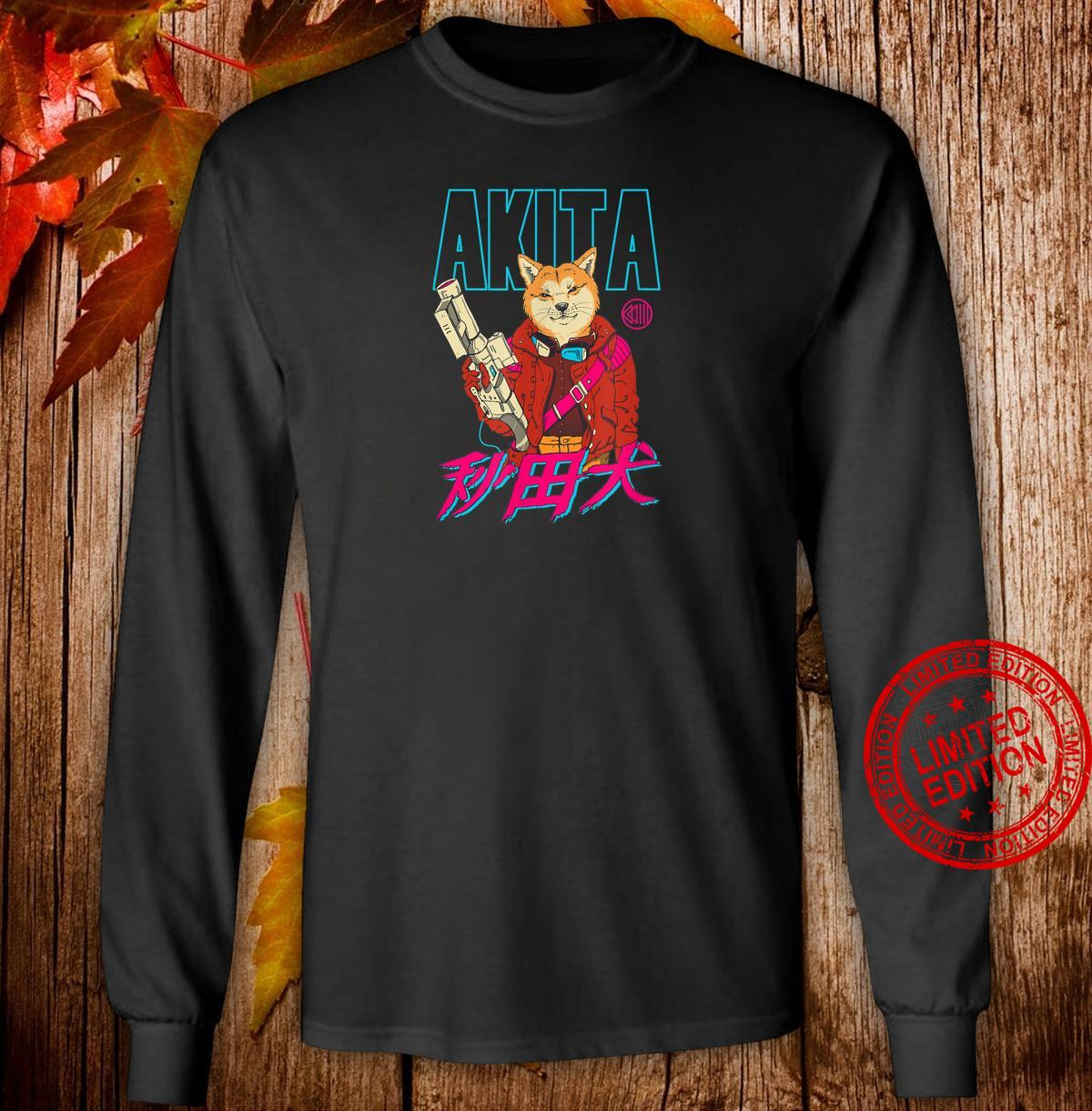 Akita Retrowave Shirt long sleeved