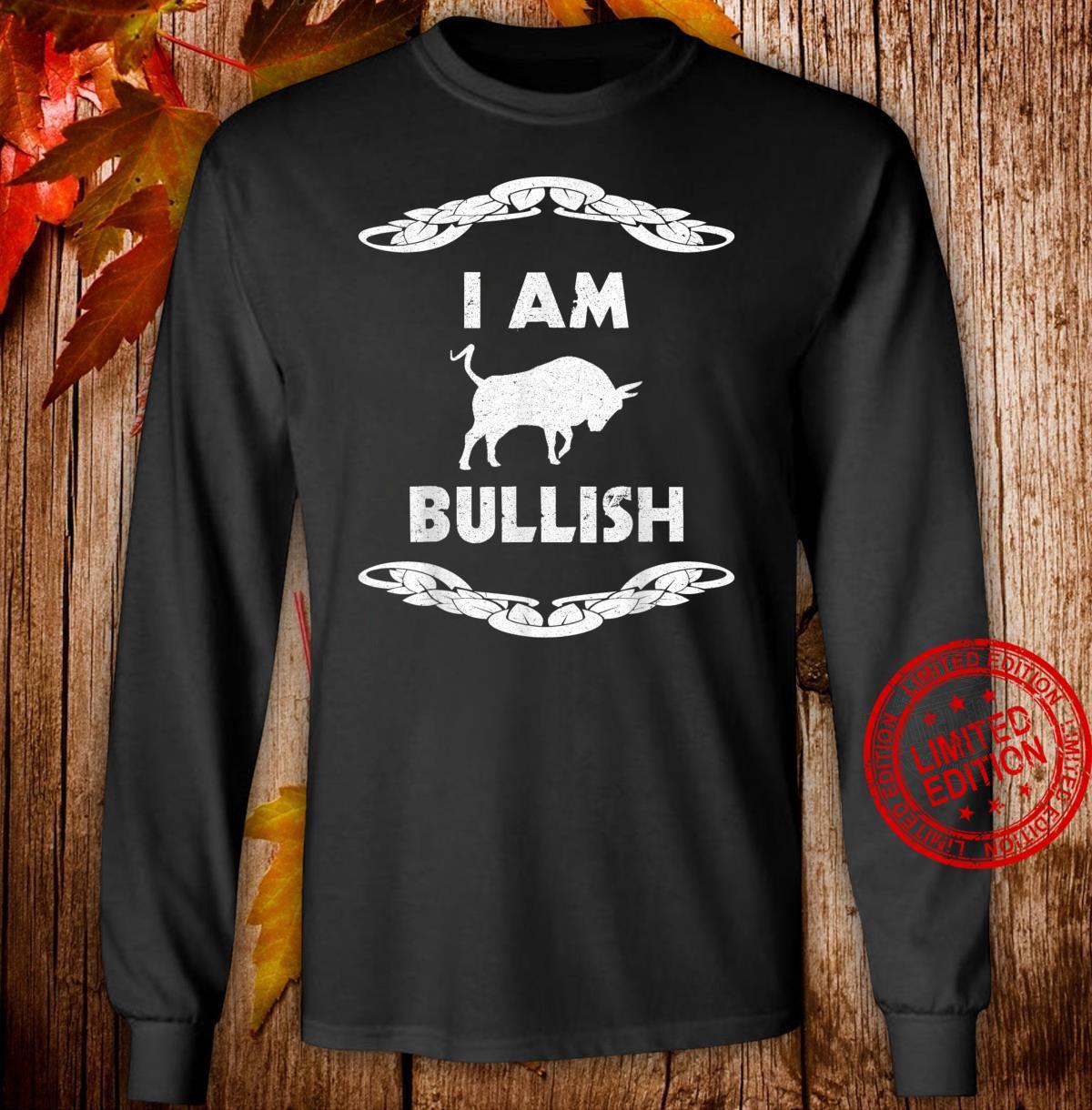 Aktien Börse Trading Aktienmarkt Geschenk Shirt long sleeved