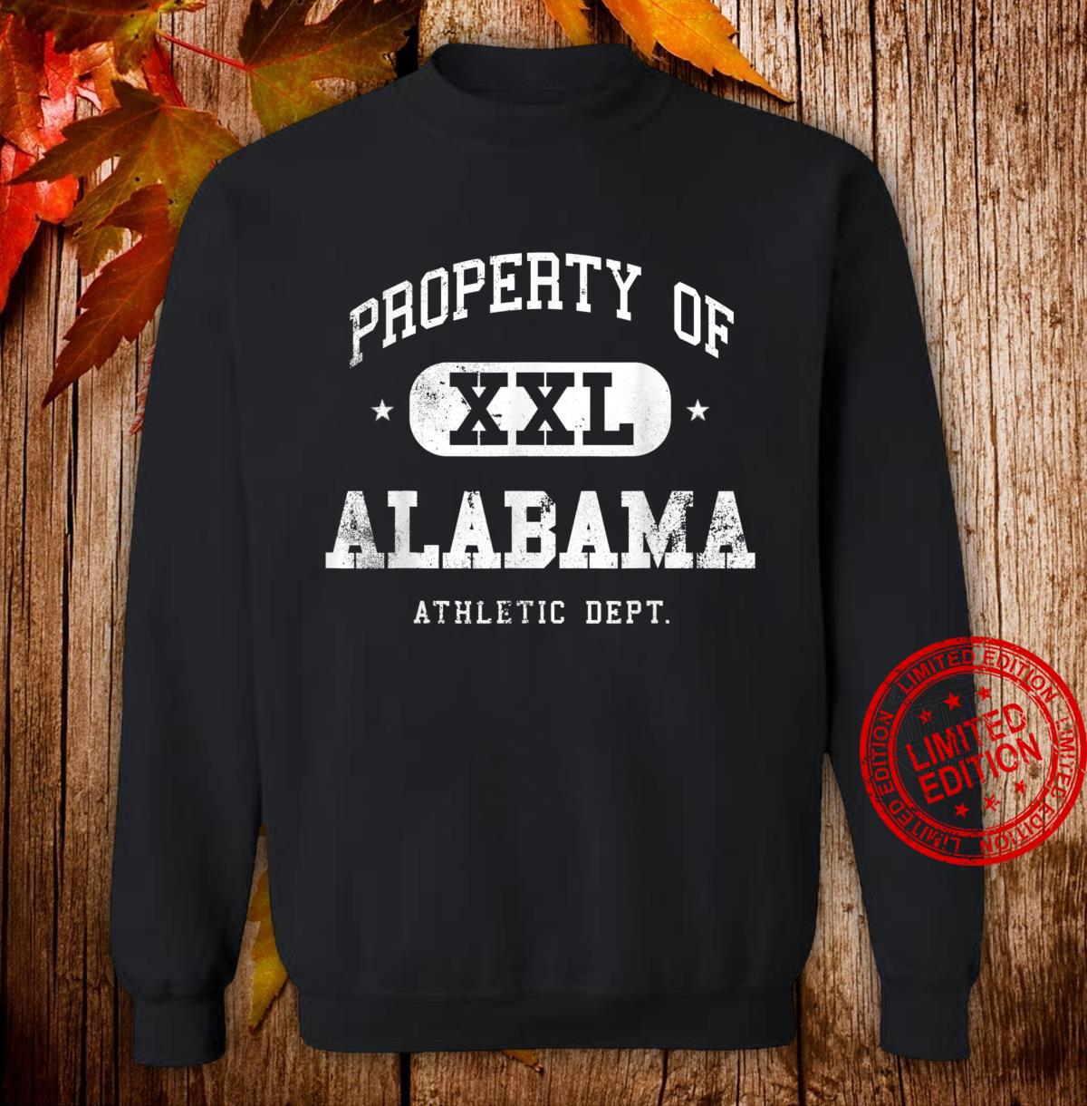 Alabama Vintage Sport Property Athletic Shirt sweater