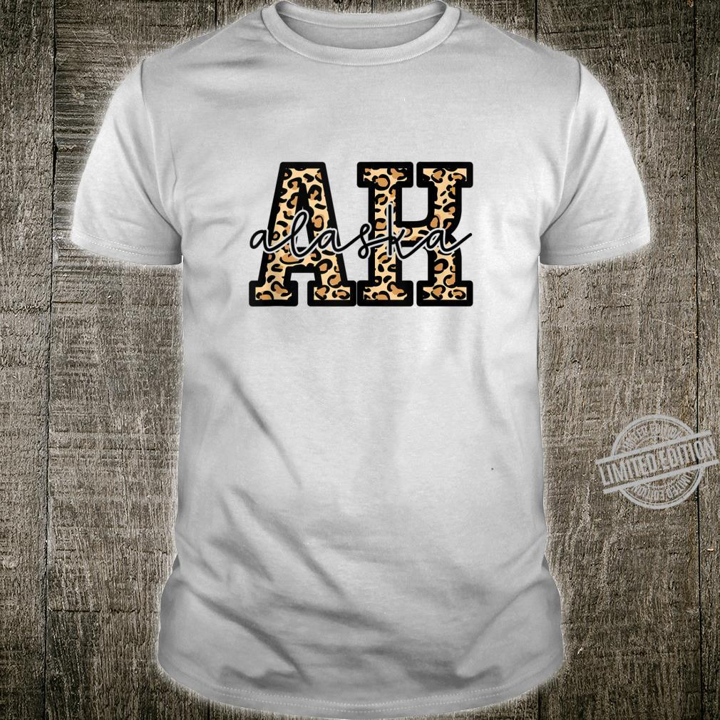 Alaska State Leopard Alaskan Cute Shirt