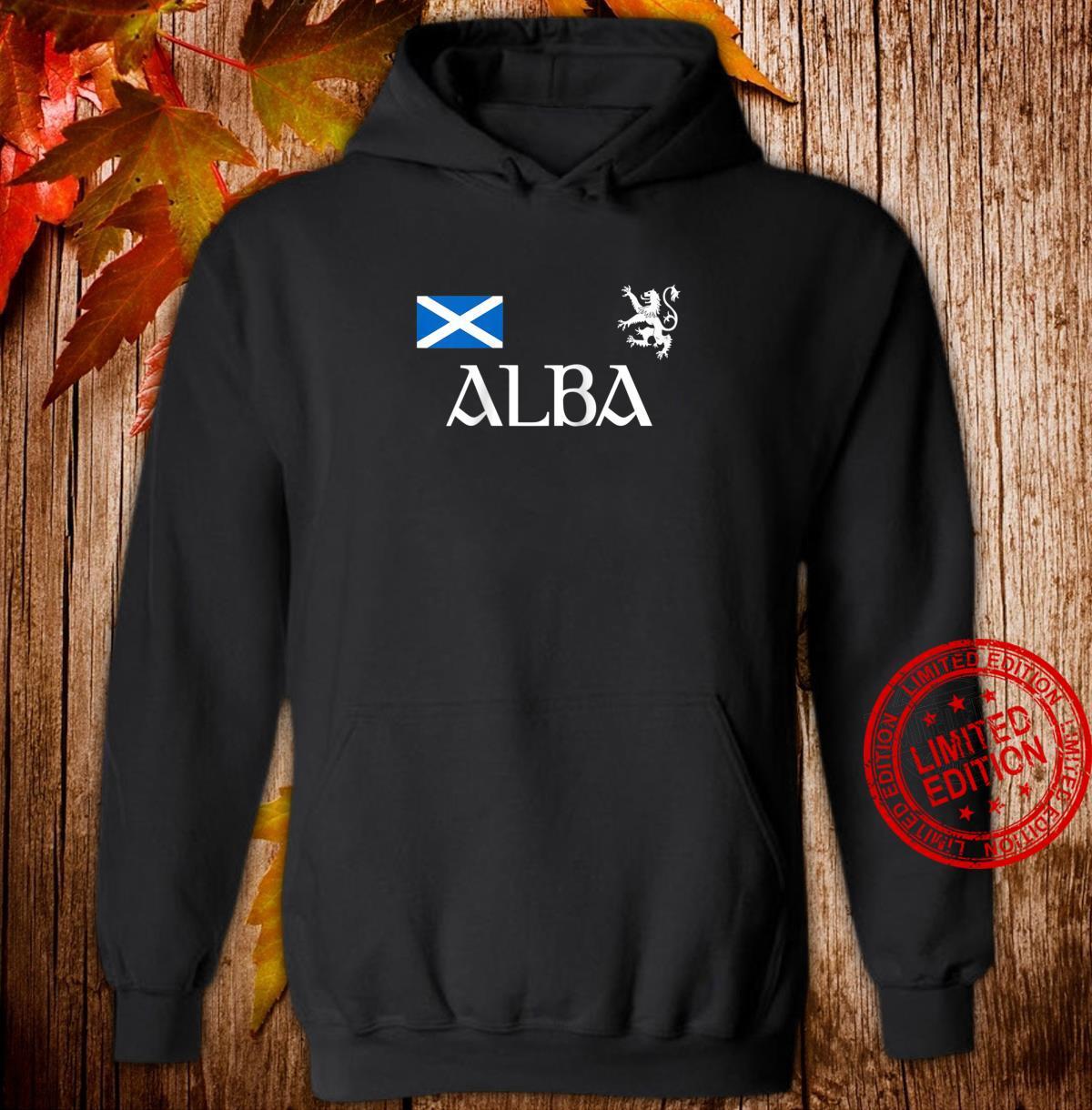 Alba Scotland Jersey Shirt Proud Scottish Lion Rampant Shirt hoodie