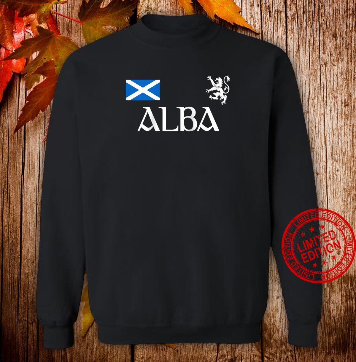 Alba Scotland Jersey Shirt Proud Scottish Lion Rampant Shirt sweater