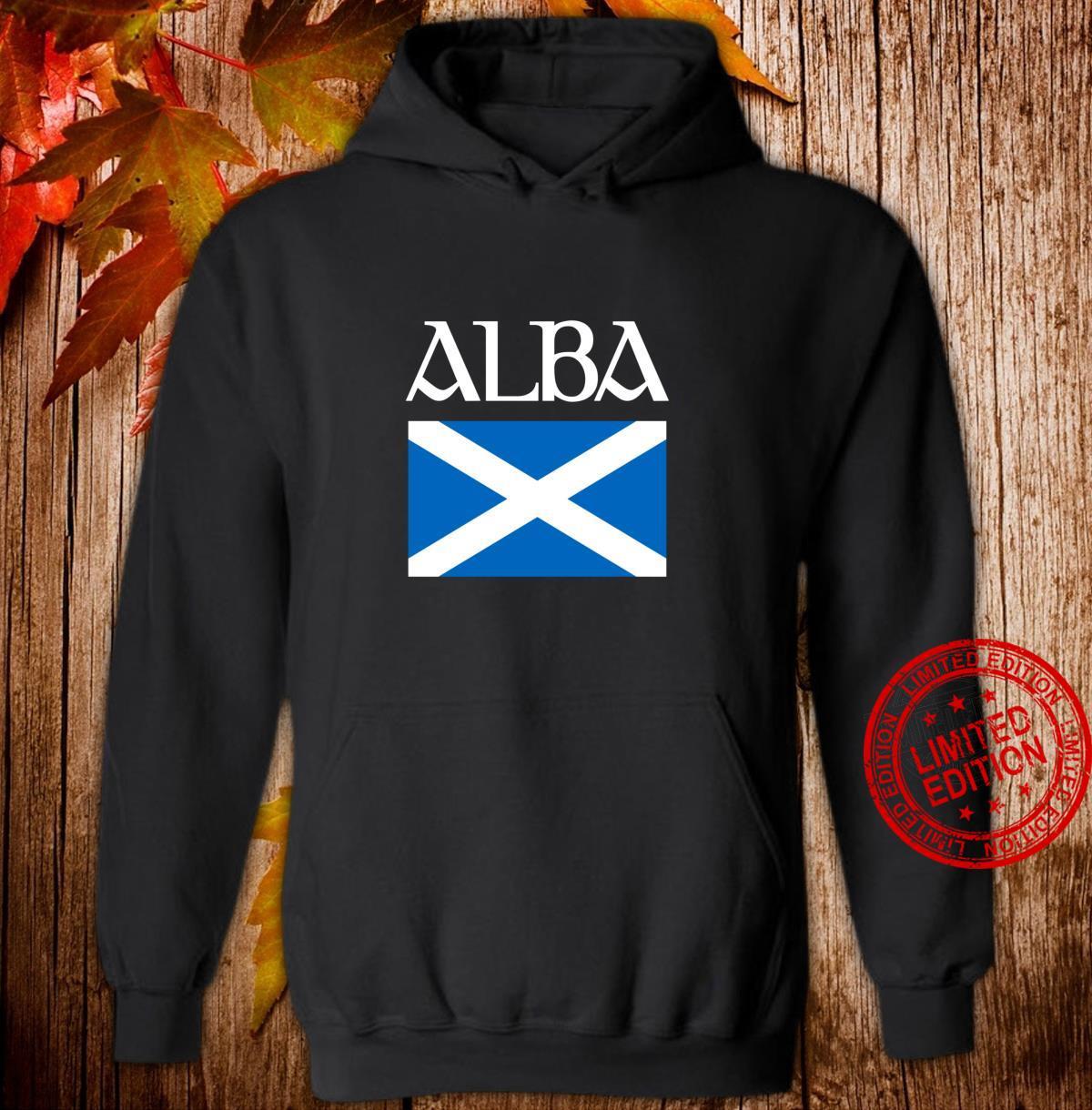 Alba Scottish Flag Shirt Proud Banner O Scotland Langarmshirt Shirt hoodie