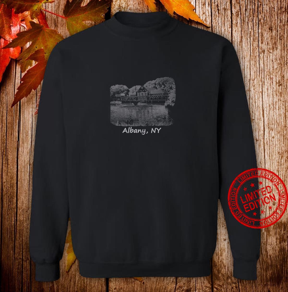 Albany, NY Washington Park Photo College Students Shirt sweater