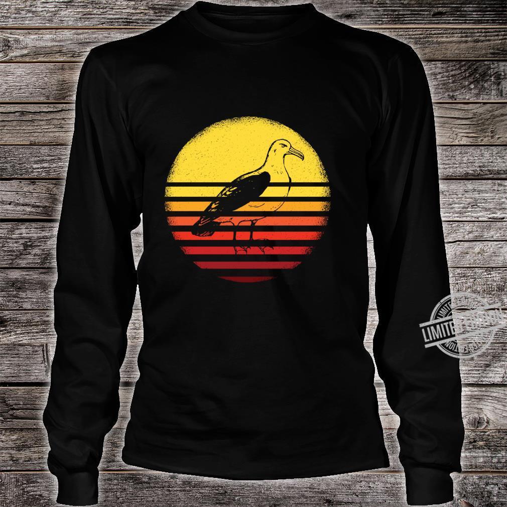 Albatross Shirt Vintage Albatross Retro Albatross Shirt long sleeved