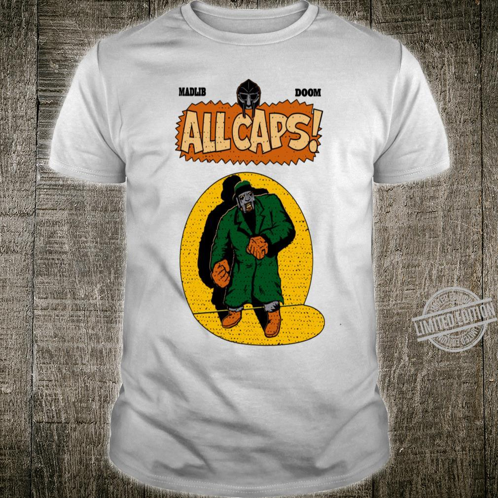Allcaps Madvillain Madlib Mfdoom Hiphop Shirt