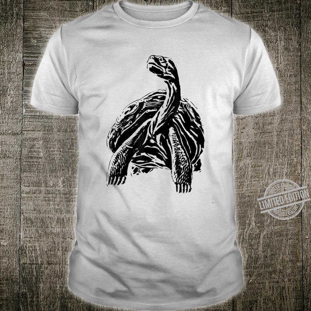 Alte Schildkröte Shirt Reptilien Tier Damen Herren Kinder Shirt