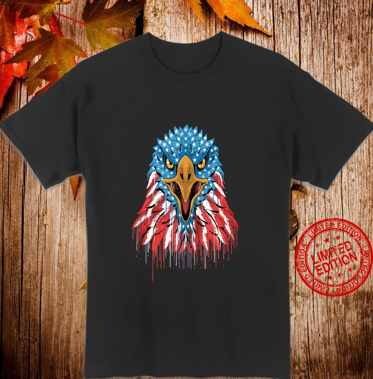 America American Eagle Bald Eagle Patriot Shirt
