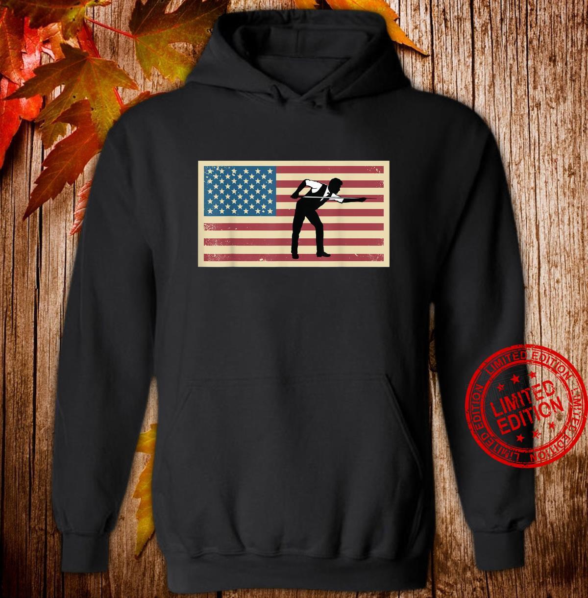 American Flag Billards Pride Billard Pool Player Shirt hoodie