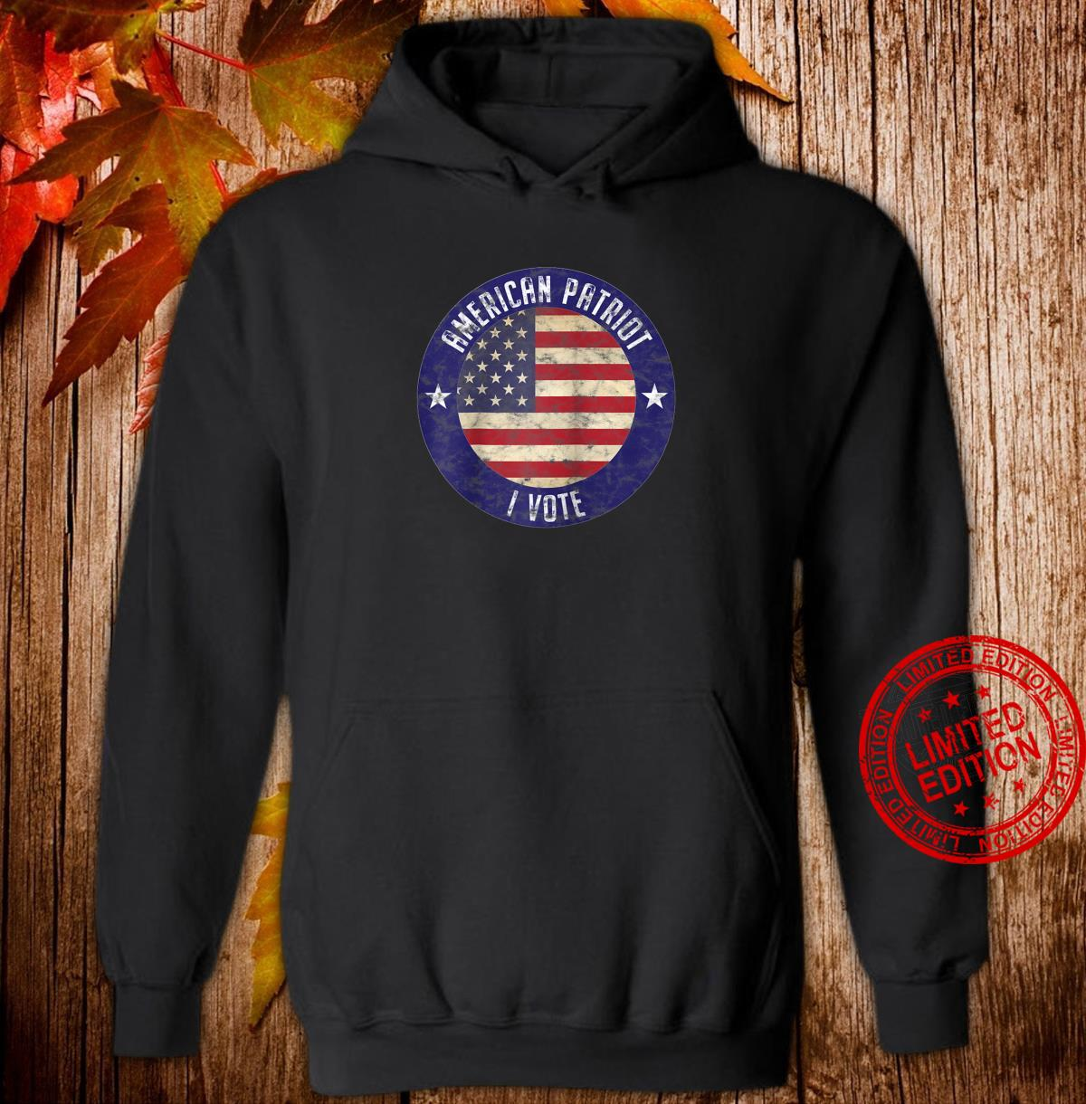 American Patriot I Vote USA Flag Election Vote Shirt hoodie