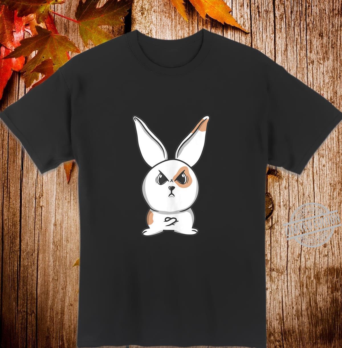 Angry Grumpy Bunny Shirt