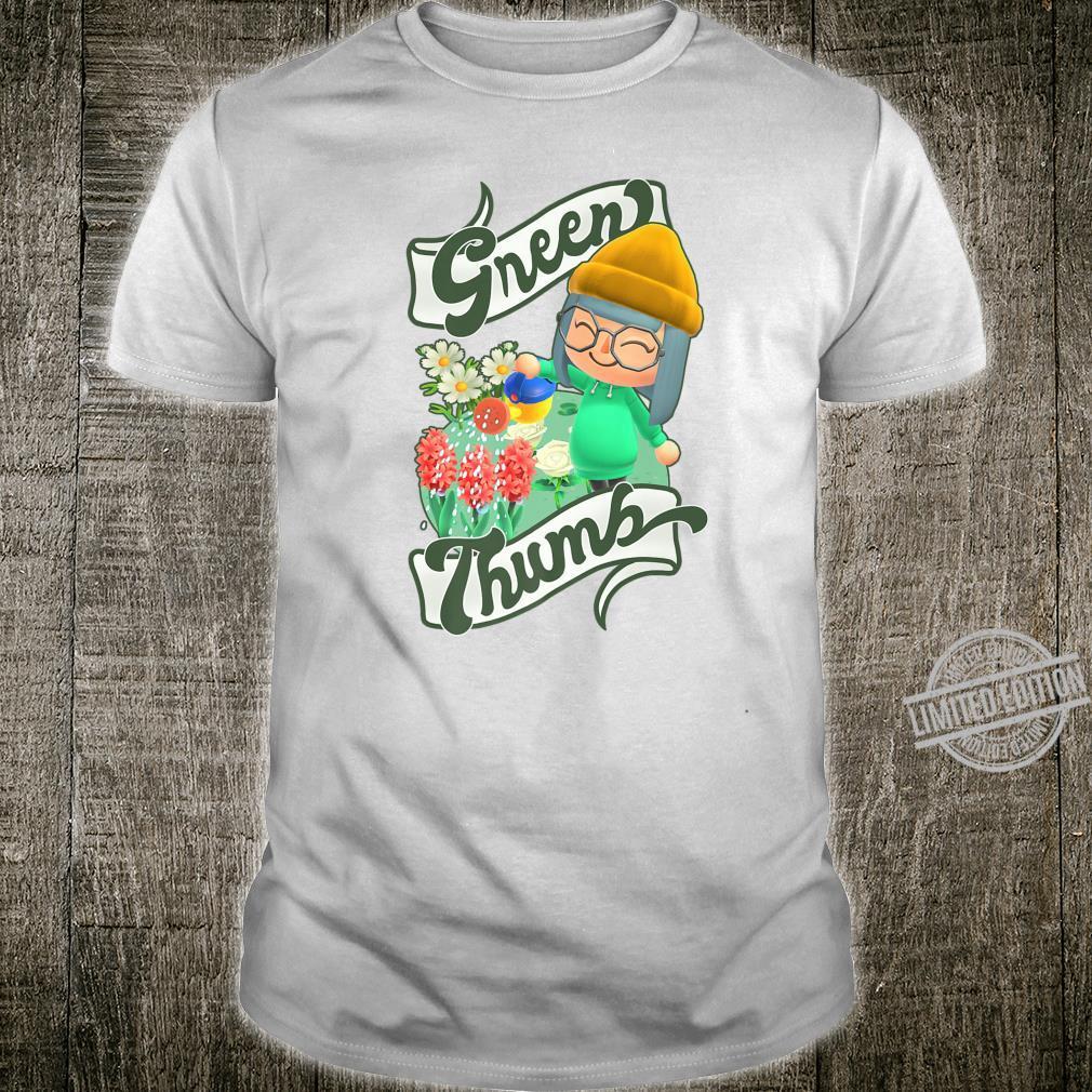 Animal Crossing New Horizons Villager Green Thumb Shirt