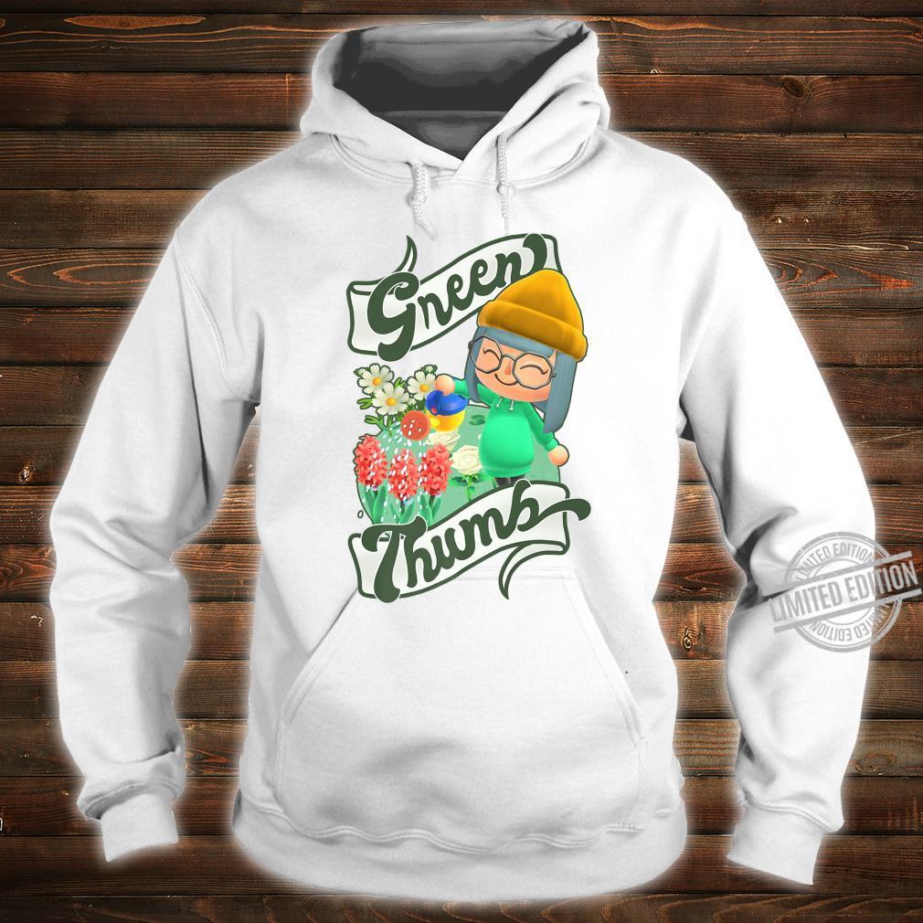 Animal Crossing New Horizons Villager Green Thumb Shirt hoodie