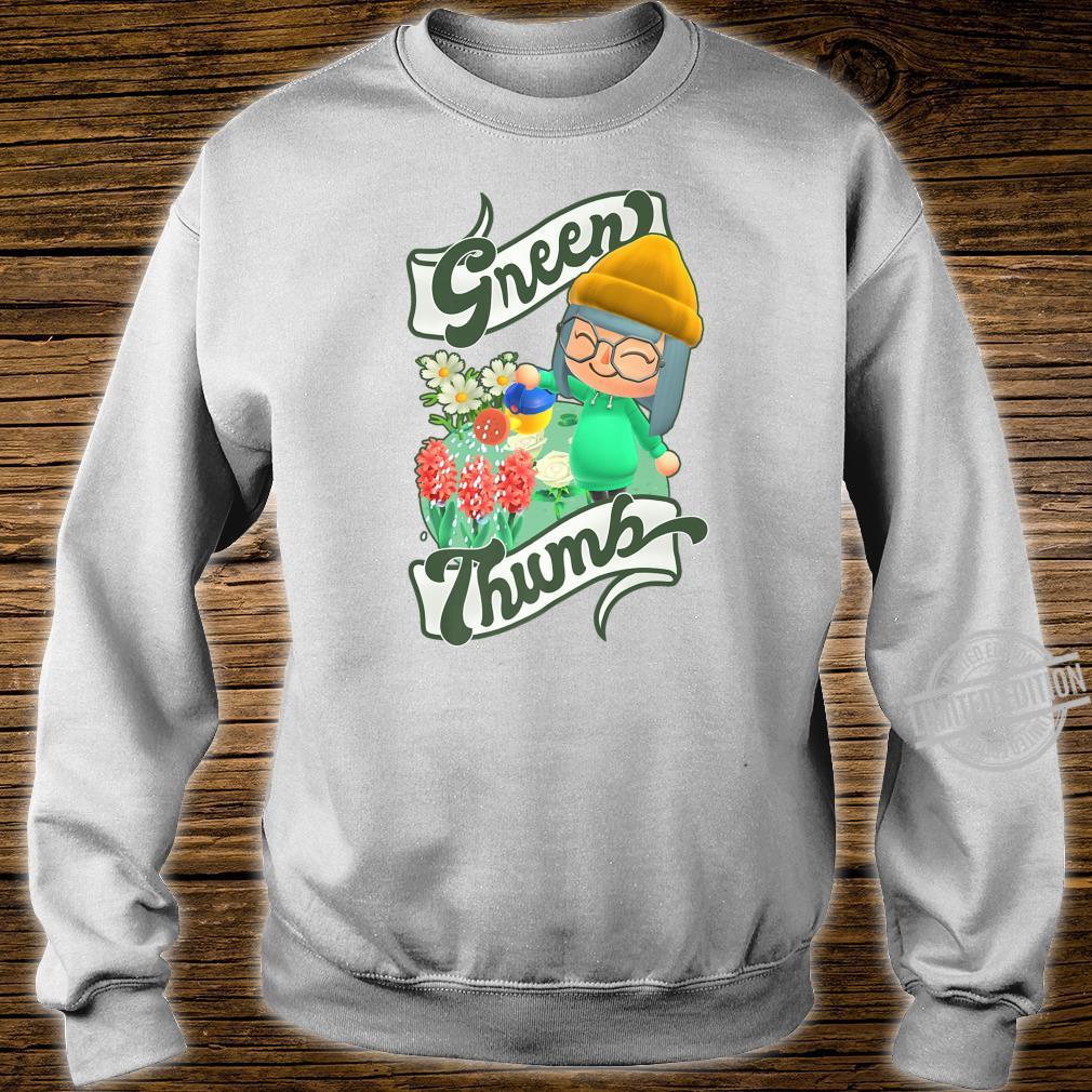 Animal Crossing New Horizons Villager Green Thumb Shirt sweater