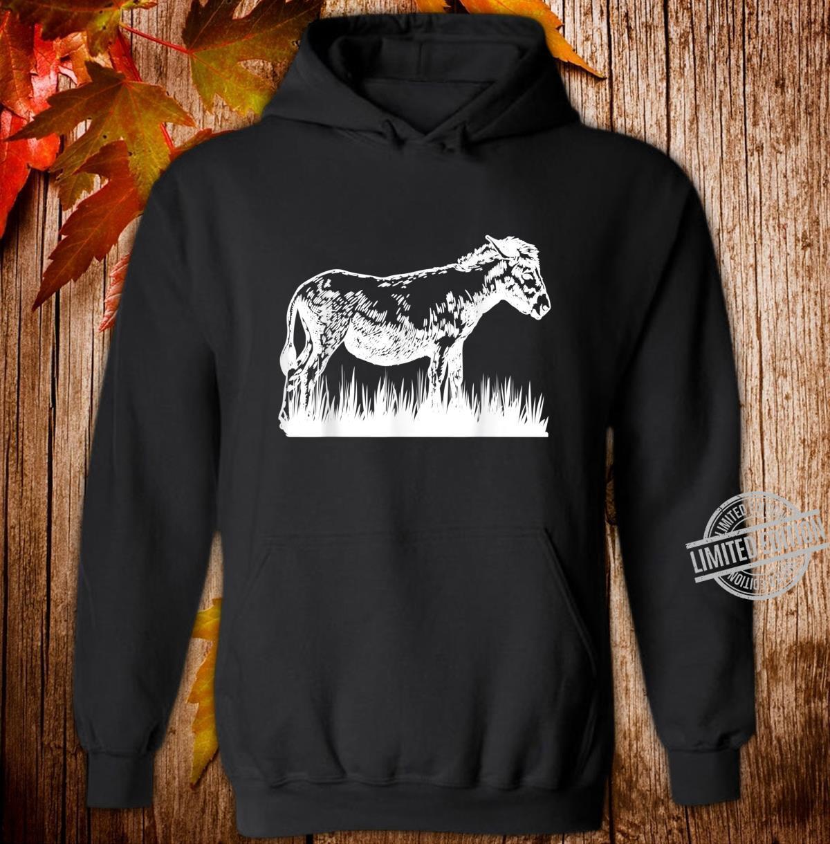 Animal Donkey Farmer Donkey Shirt hoodie