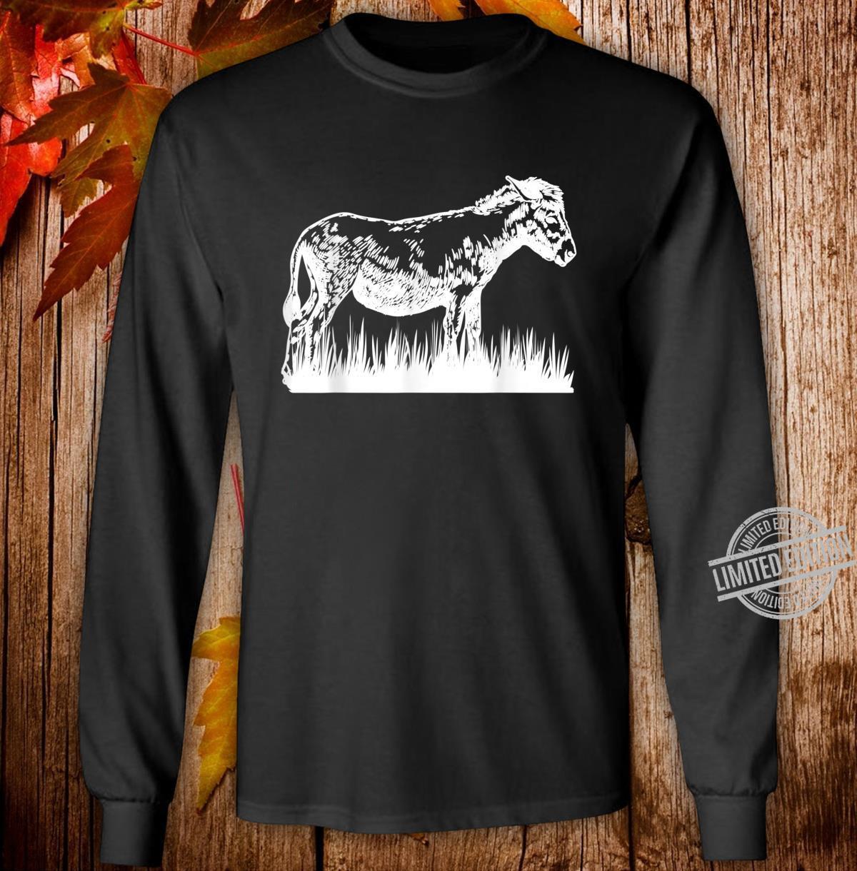 Animal Donkey Farmer Donkey Shirt long sleeved