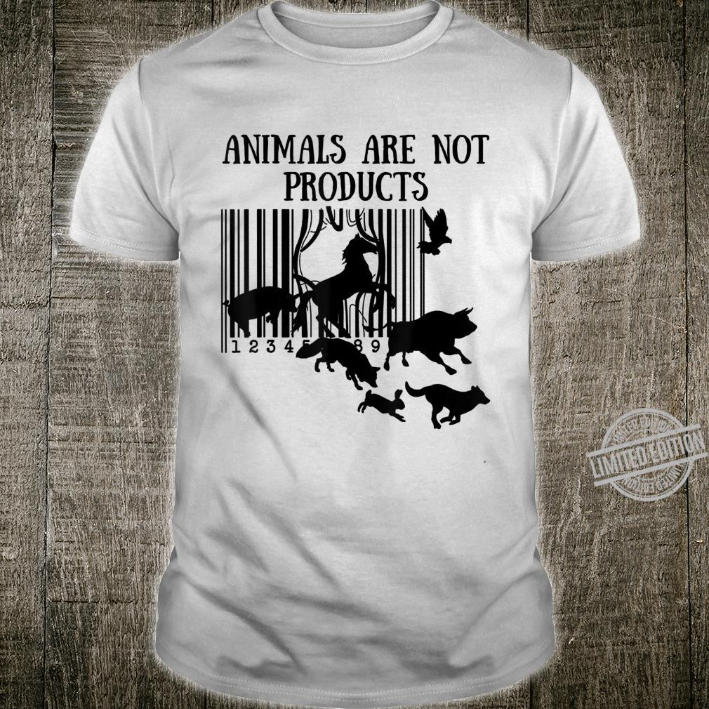 Animals Are Not Products Love Animal Earth Day Shirt