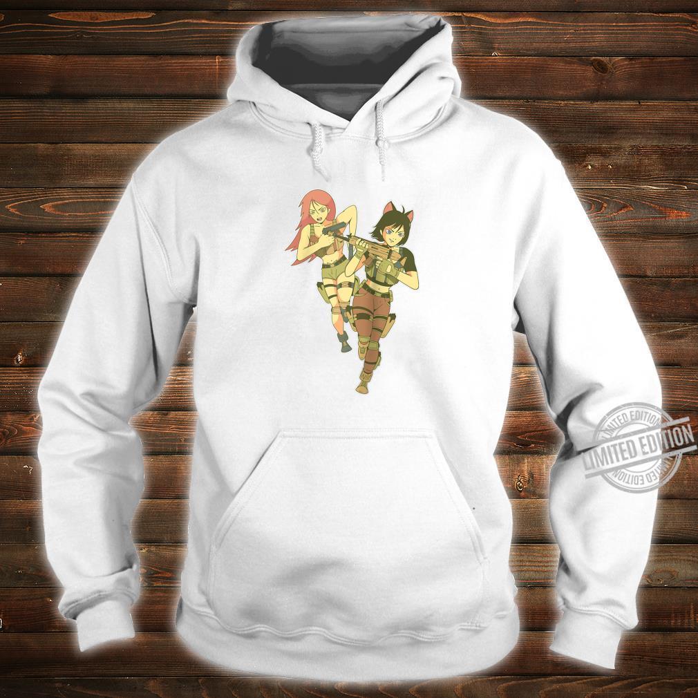 Anime Soldier Girls l Cool Anime Girl Design Shirt hoodie