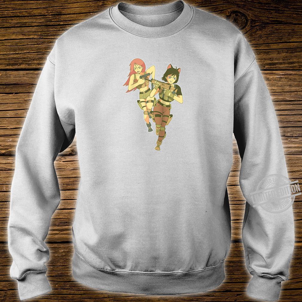 Anime Soldier Girls l Cool Anime Girl Design Shirt sweater