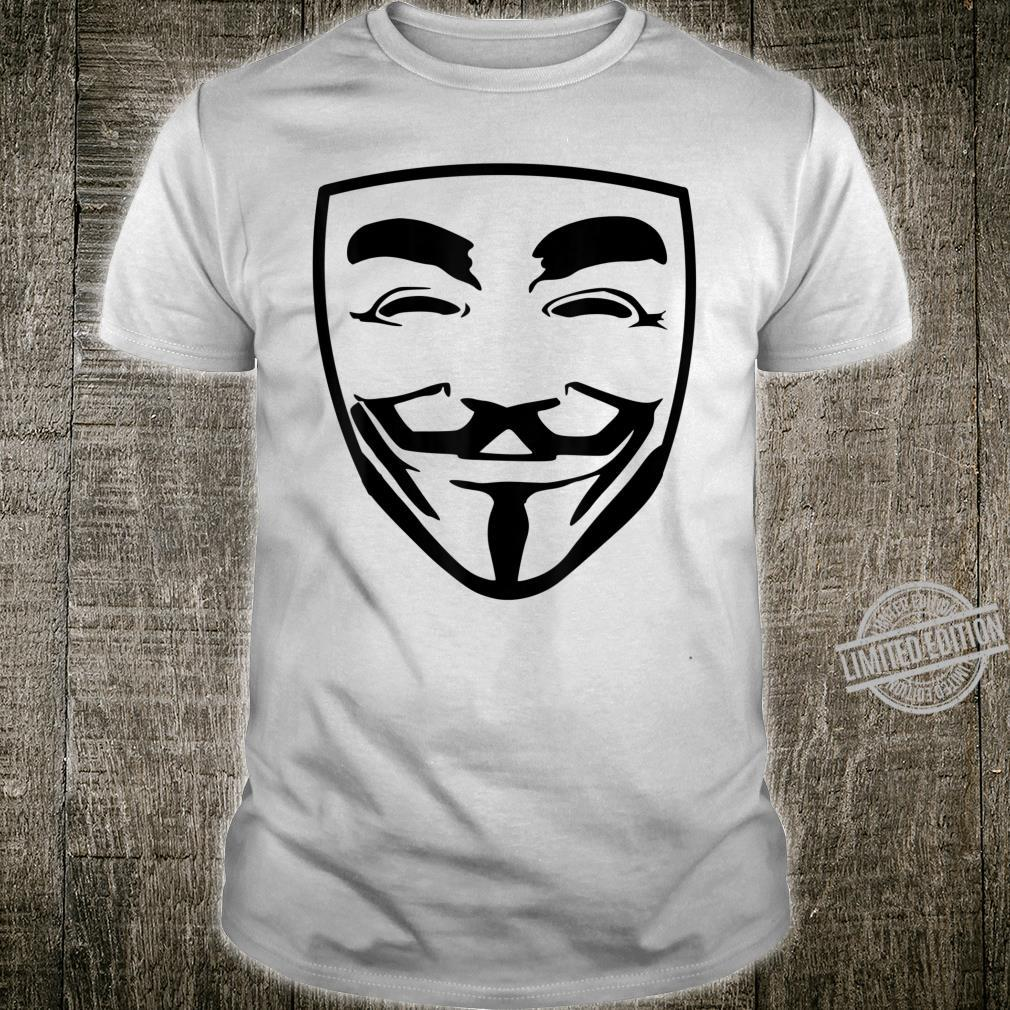 Anonymous Revolt Freedom Privacy Community Protesters Masked Shirt