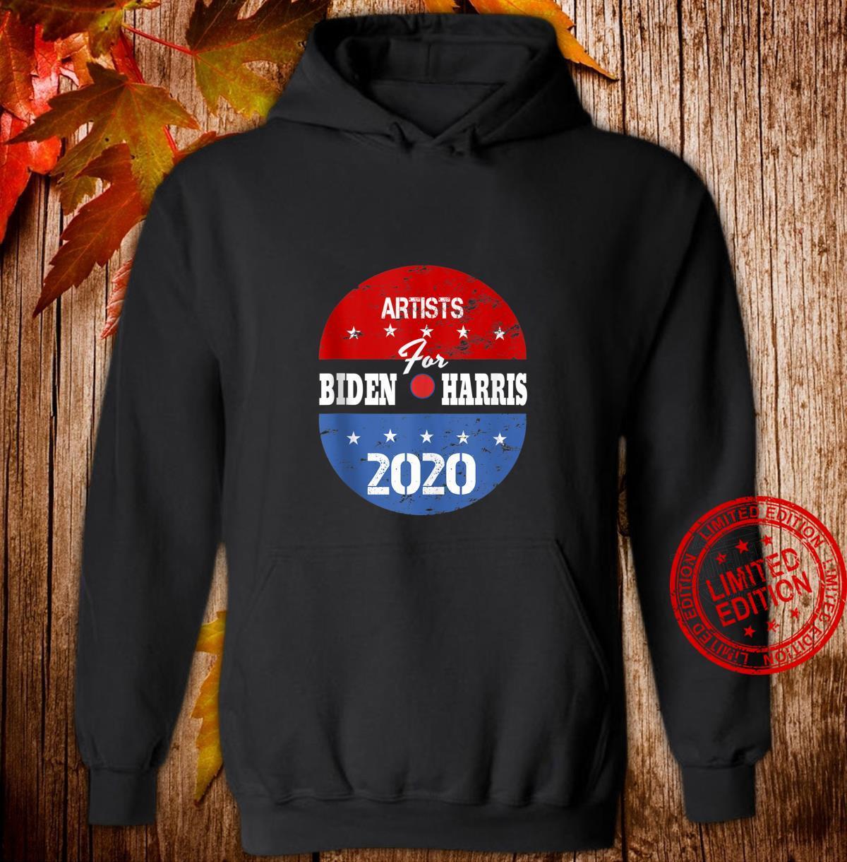Artists For Biden Harris 2020 Election Volunteer Shirt hoodie