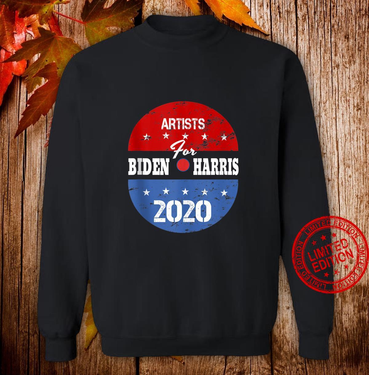 Artists For Biden Harris 2020 Election Volunteer Shirt sweater