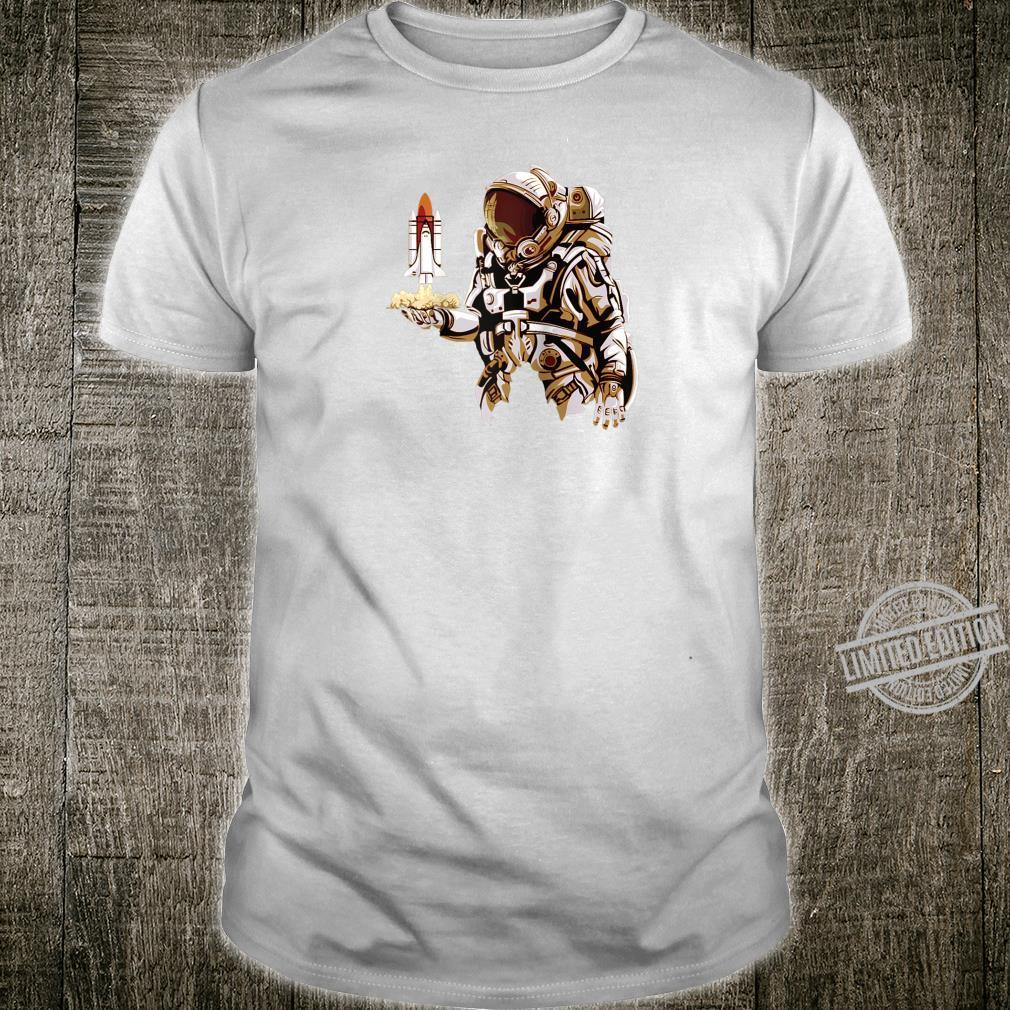 Astronaut Space Shuttle Sci Fi Shirt