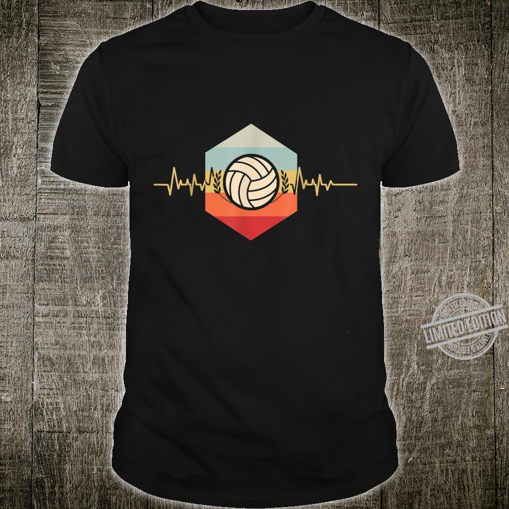 Athlete Sport Heartbeat Volleyball Player Volleyball Shirt