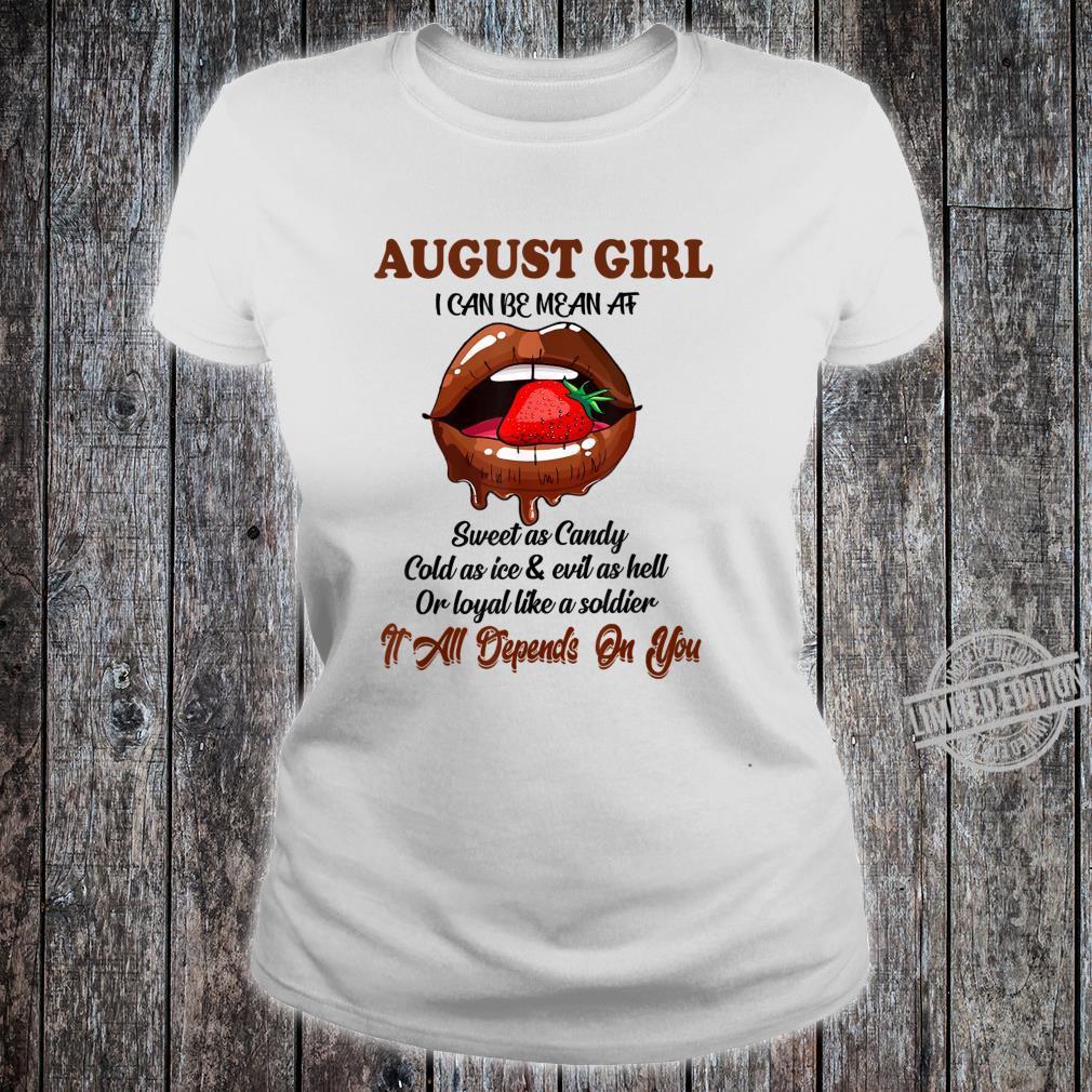 Im a August Girl Sweet as Candy Funny Unisex Sweatshirt tee
